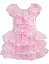 Girls Dress Multi-layer Tulle Tutu Dancing Party Kids Boutique Size 2-6 Years