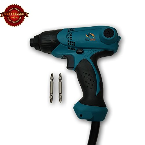 ToolsCentre ideal id101d Plastic Industrial Impact Driver with Free Bosch Screwdriver Bits (Blue)