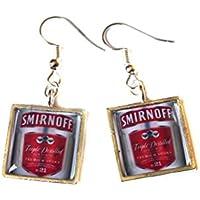 Smirnoff Vodka Earrings