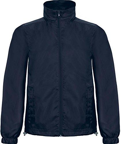 B&C Collection ID.601 Jacke Herren Freizeit Stylisch Polyester Zwischensaison Windjacke Marine