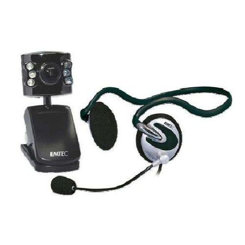 EMTEC Webcam Voip Kit (inkl. Headset) [Elektronik]