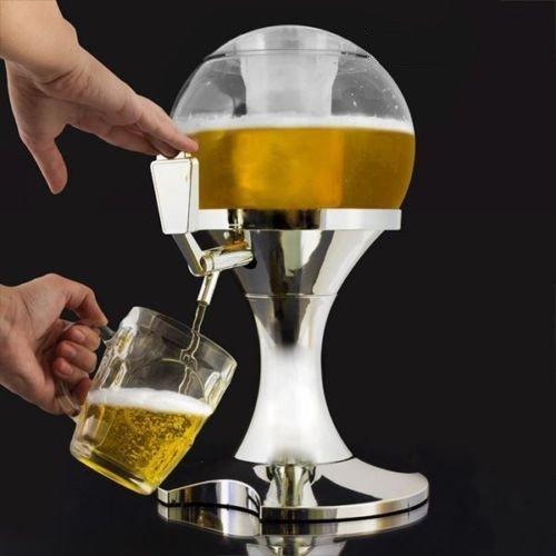 3,5 L Bier Spender & Drink Getränk dispenser(Silber)