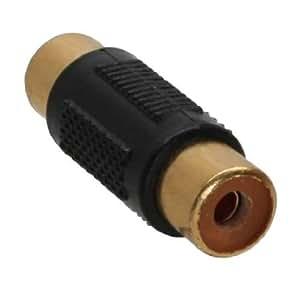 Adaptateur audio, InLine®, connecteur Cinch femelle à connecteur Cinch femelle, doré