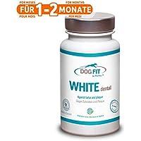 DOG FIT by PreThis White Dental para Perros | para el sarro y la Placa Dental | Completamente Natural | ¡Certificado ISO!