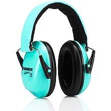 Protección auditiva Senner KidsPro para niños y bebés. Bebés desde 3 meses y niños hasta 16 años crecen con ella (menta/turquesa)