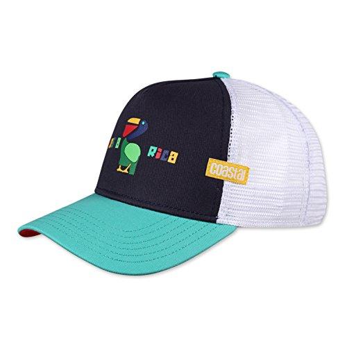 COASTAL - Costa Rica (navy) - Trucker Cap Meshcap Kappe Mütze Cappy Caps