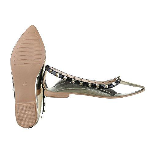 Ital-Design, Ballerine donna Gold