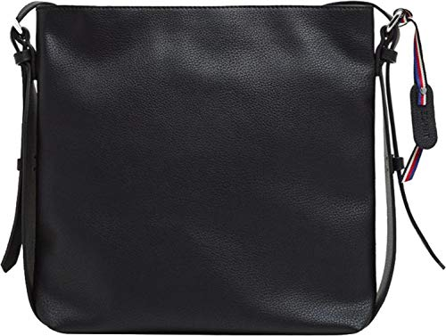 Esprit Accessoires Damen 128ea1o005 Umhängetasche, Schwarz (Black), 7x28x26 cm