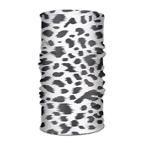 Cow Print Leopard Pattern Headwrap Unisex Headwear Headband Neck Scarf  Microfiber Do Rag Cap Magic Head Scarf Bandana Novelty Headdress Face Mask  Neck