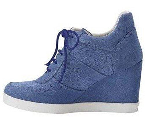 Best Connections  Schnürer, Chaussures de ville à lacets pour femme Bleu - Bleu