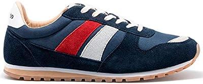 El Ganso 4110W190018, Zapatillas para Hombre, Rojo (Granate 0018), 40 EU