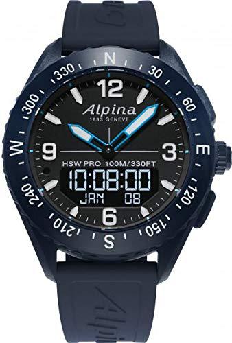 Alpina Geneve AlpinerX AL-283LBN5NAQ6 Smartwatch
