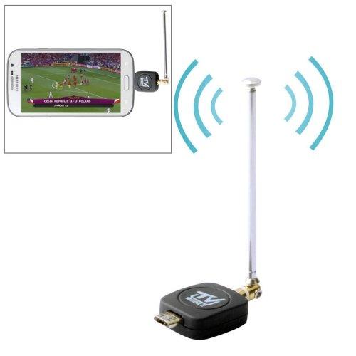 Digitales Fernsehen Micro USB 2.0 Mobile Watch DVB-T/ISDB-T TV Tuner Stick für Android zb Smartphones und Pads - Mini-DVB-T-Receiver