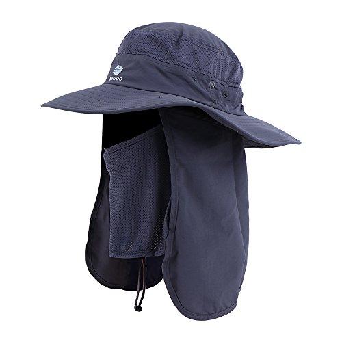 Anyoo Outdoor Nacken Gewicht Klappe Mütze UV Schutz Breite Krempe Kappe Angeln Jagen Boot