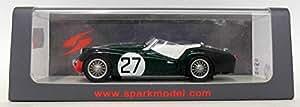 Triumph TR3 S, No.27, 24h Le Mans, 1959, voiture miniature, Miniature déjà montée, Spark 1:43