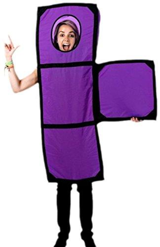 Fancy Ole - Herren Männer Tetris Pop Up Party Fasching Karnevalkostüm , XS-2XL, (Erwachsenen Kostüme Tunika Tetris)