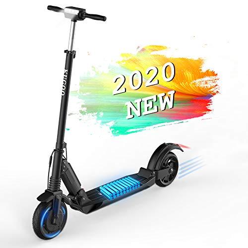 E-Scooter Klappbar Elektroroller Scooter, S1 350W, 30km, 30 Km/h, 7,5 AH Li-Ionen-Akku, LCD E-Roller Jugendliche und Erwachsene Elektroscooter (S1-Schwarz)