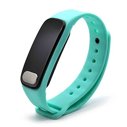 Sport Fitness Tracker, Activity Tracker Smart Watch, Elektronische Smart Armband Blut Druck Herzfrequenz für Android und IOS, blau