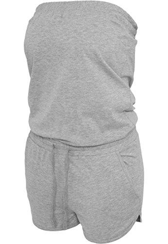 Ladies Hot Jumpsuit kurz in versch. Farben XS,Grau
