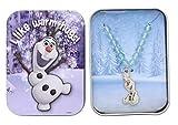 Disney Frozen Neacklace: Olaf I Like Warm Hugs!