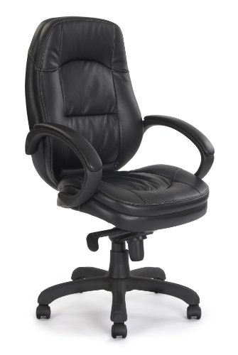 Cheapest Eliza Tinsley High Back Black Leather Faced Executive Armchair Review