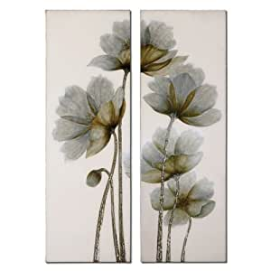 Uttermost 34201 Floral Glow Floral Art (Set of 2) by Uttermost