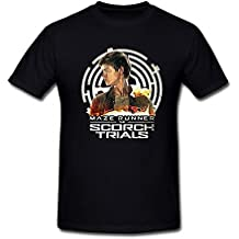 SEagleo2 Men's Newt Maze Runner The Scorch Trials's Character Thomas Brodie-Sangster T-Shirt Sizes S-3XL XXXX-L
