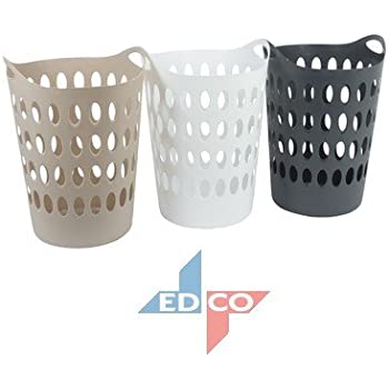 Tall Plastic Laundry Basket Custom Marko Homewares Plastic Laundry Basket Storage Flexible Flexi Tall 60