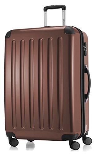 Hauptstadtkoffer coque série alex valise à roulettes 119 l 20 reisegutschein-marron brillant