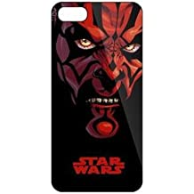 iPhone 5c Star Wars Carcasa de Telefono / Cubierta para Apple iPhone 5C / Protector de Pantalla y Paño / iCHOOSE / Darth Maul