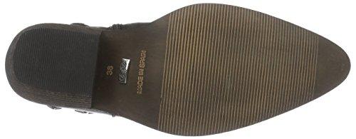 Buffalo London - 3942 Leather, Stivaletti Donna Nero (nero (black 01))