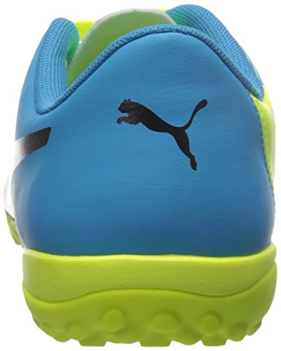 Puma Evopower 4.3 Tt Sneaker Sfty Yellow-Black-Atmc Blue