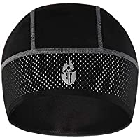 MIRACLEM Bicycle Riding Warm Hat/Windproof Outdoor Sports Polar Cap,Blackspots