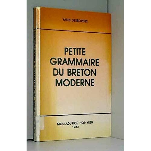 Petite grammaire du breton moderne