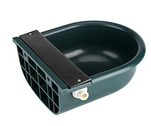 Automatische Wasserschale, Float Bowl Automatische Schwimmerventil Wasserzufuhr/Trinker Fütterung Haustier Tier Pferd Pony Kuh Schaf Ziege, Wasserkapazität 4L