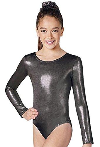 Mythgiftuk Damen Jumpsuit Dancewear Strumpfhosen Ärmellose Gymnastik Trikot Ballett (Tanz Schuluniform Kostüm)