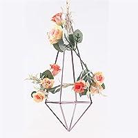 Geometrico decorativo da appendere staccabile Himmeli Custodia ghirlanda fiori porta