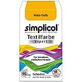 """'Simplicol textil color Expert–para creativo, fácil färben–1701""""de maíz amarillo NUEVO."""