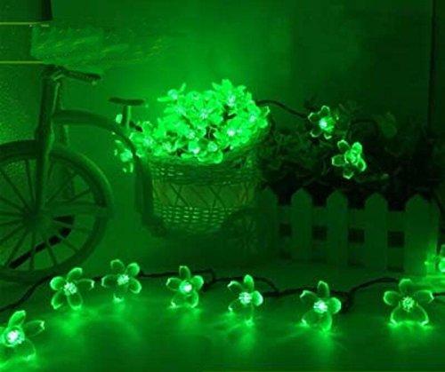 ZLL/ Solar Licht/führte nach Hause leichte Kette/outdoor wasserdicht Gartenleuchten, dekorative Lichter, Girlanden, Rasen, Garten-Dekoration-Leuchten , peach - green 7 m