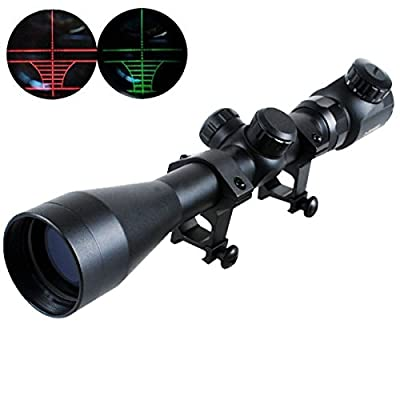 CVLIFE 3-9x40 Red And Green Illuminated Air Rifle Gun Optics Sniper Hunting Scope Sight by Huihaozi