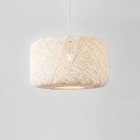ZQ@QX Moderne Design Dekoration Lampe Schlafzimmer Wohnzimmer Küche Esszimmer Kronleuchter Pastorale kreative Leinen Kronleuchter ,