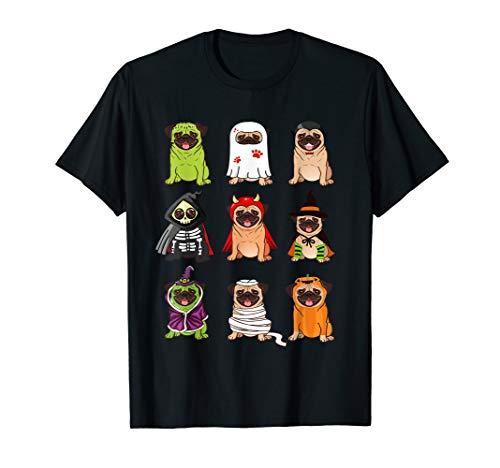 Mops Kostüm Halloween Lustige Möpse Hunde Emojis Cool Dutch - Möpse Kostüm