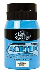 Royal & Langnickel RAA-5143 Essentials 500ml Acrylic Paint - Cerulean Blue