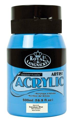 Royal & Langnickel RAA-5143 Essentials Acrylfarbe 500 ml Cerulean Blue