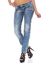 CIPO & BAXX Damen Jeans CBW-445 straight