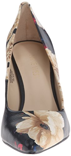 Nine West Flax Synthétique Talons Black/Multi Combo