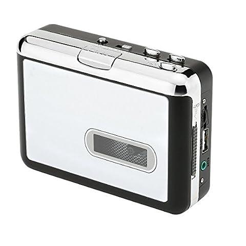 Easy-Link Lecteur Cassette / Cassette Tape à MP3 Convertisseur dans le Lecteur Flash USB, Tape à MP3 / CD / iPod / PC