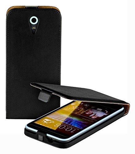 yayago Flip Tasche für HTC Desire 620 / HTC Desire 620G Hülle Flip Case Schwarz