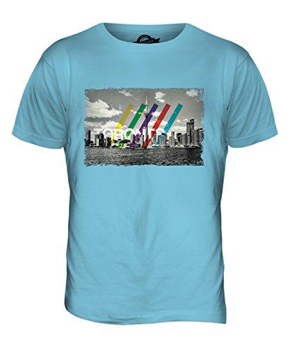CandyMix Toronto Skyline Herren T Shirt Himmelblau