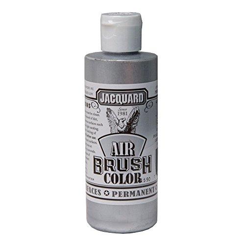 Jacquard Airbrush Color 4Oz Metallic Silver by Jacquard